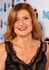 Actor Arianna Huffington