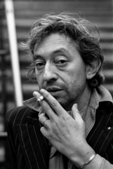 Actor Serge Gainsbourg