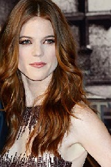 Actor Rose Leslie