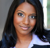 Actor Sharon Muthu