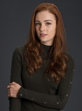 Actor Sophie Skelton