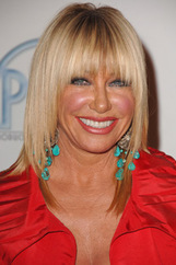 Actor Suzanne Somers