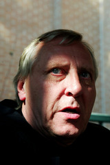 Actor Peter Greenaway