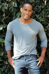Actor Lawrence Saint-Victor
