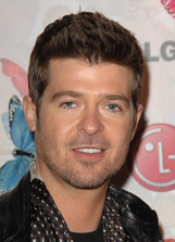 Actor Robin Thicke