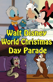 Walt Disney World Christmas Day Parade