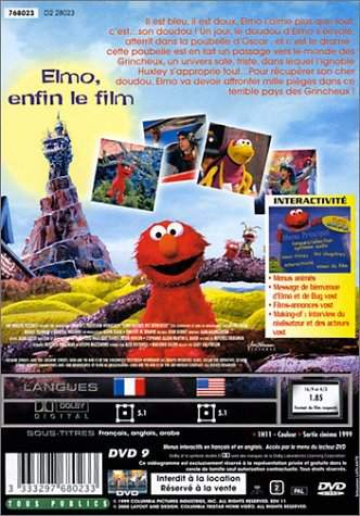 Watch The Adventures Of Elmo In Grouchland 1999 Full Movie