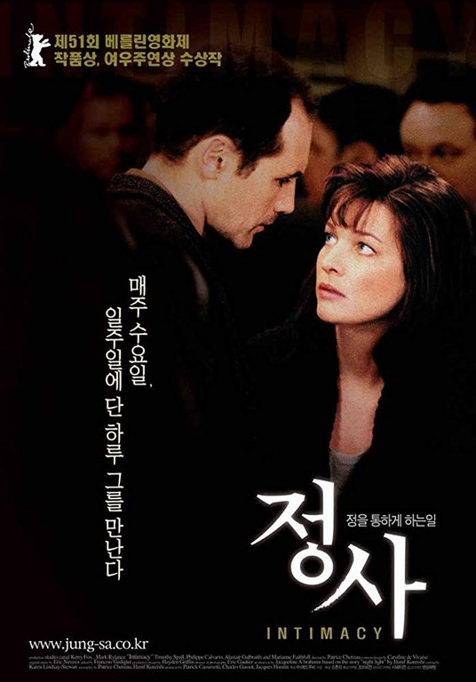 Intimacy (2001) rotten tomatoes.
