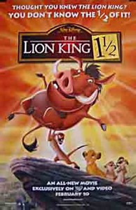 The Lion King 1 ½ (Hakuna Matata)